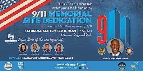 9/11 Memorial Site Dedication tickets