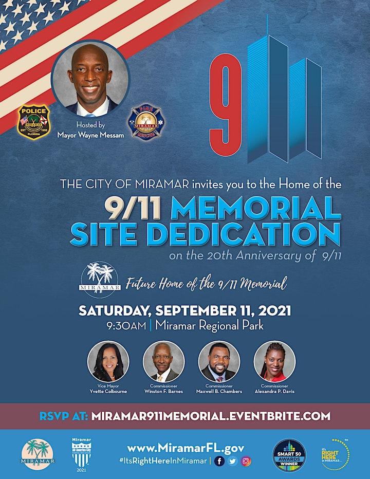 9/11 Memorial Site Dedication image