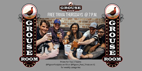 Trivia Night at The Grouse Room! tickets