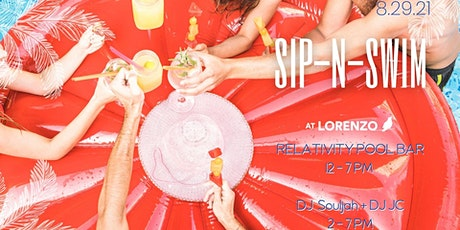 SIP-N-SWIM at Lorenzo tickets