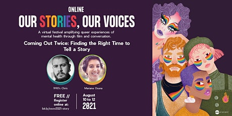Coming Out Twice: Finding the Right Time to Tell a Story tickets