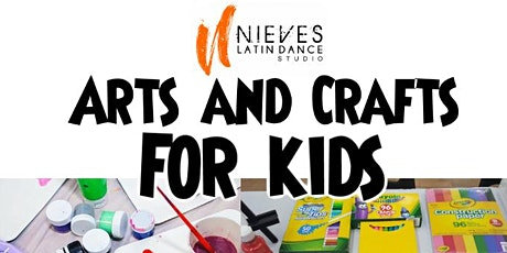 Arts and Crafts FREE trial for Kids! tickets