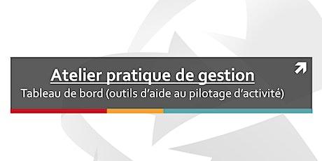 Atelier pratique de gestion : Tableau de bord (outils d'aide au pilotage) billets