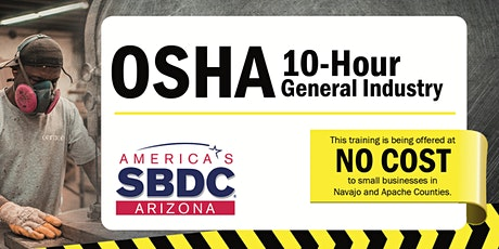 OSHA 10 Hour General Industry tickets