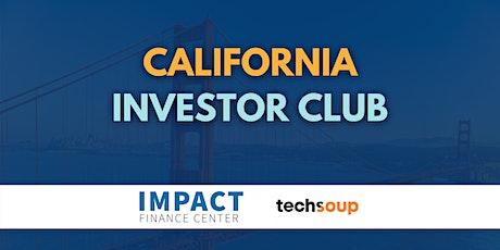 California Investor Club tickets
