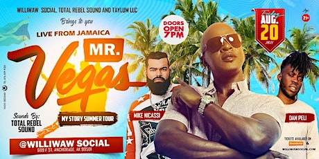 Mr. Vegas live at Williwaw Social tickets