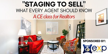 Staging to Sell, a CE class for Realtors tickets