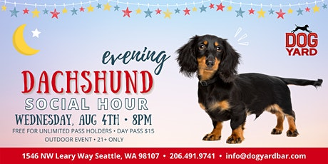 Seattle Dachshund Evening Meetup at the Dog Yard tickets