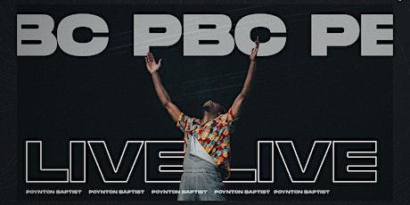 PBC Sunday service - July 25th tickets