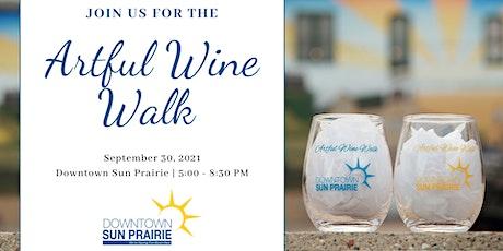 Artful Wine Walk tickets