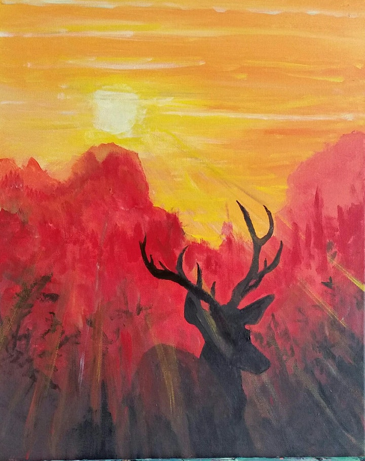 Paint Night at Soul Fire Brewing Company image