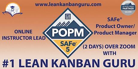 Online SAFe Product Owner/Product Manager,13-14 Nov, EST Time tickets
