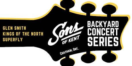 SOK Backyard Concert Series ft. Glen Smith, Kings of the North & Superfly tickets