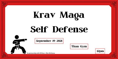 Krav Maga Self Defense Class tickets