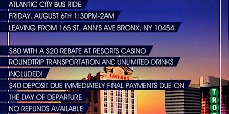 Atlantic City Bus Trip tickets