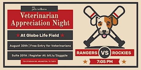 Veterinarian Appreciation Night with My Pets Wellness tickets