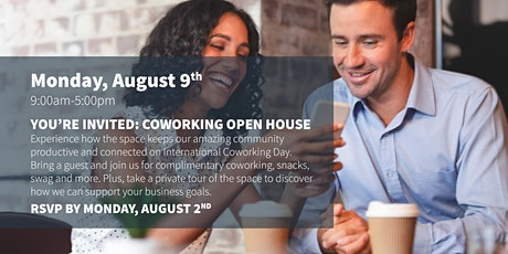 FREE Coworking Open House @ Workspace at Cummins Station tickets