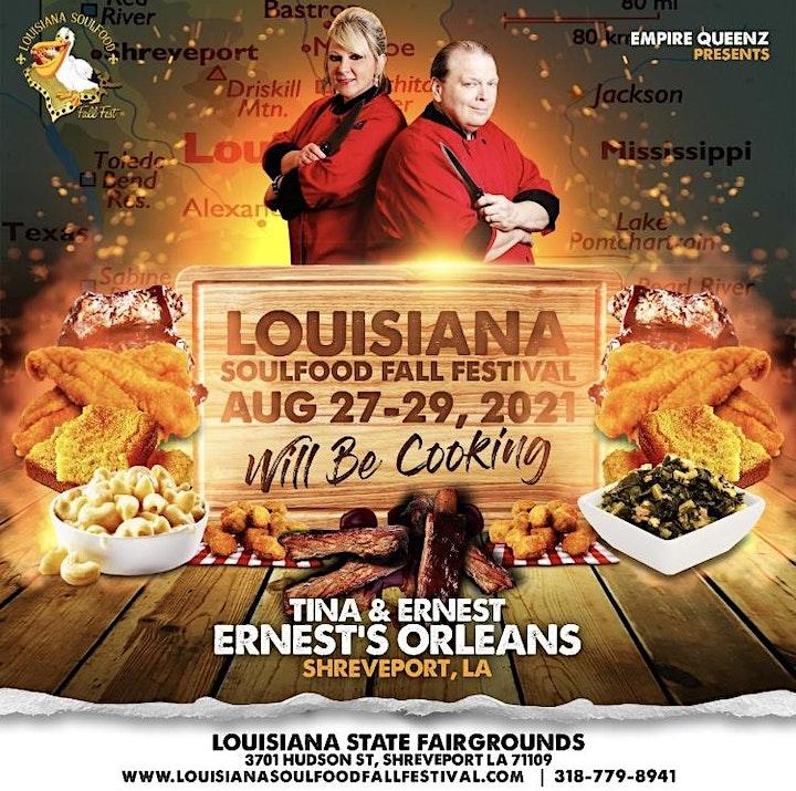 Louisiana Soul Food Fall Festival ⚜️ image