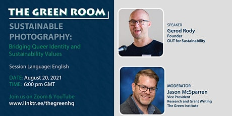 The  Green Room: Bridging Queer Identity and Sustainability Values. tickets