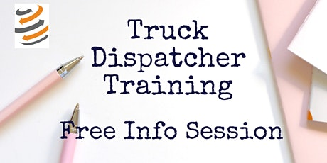 Free Info Session in Truck Dispatching tickets