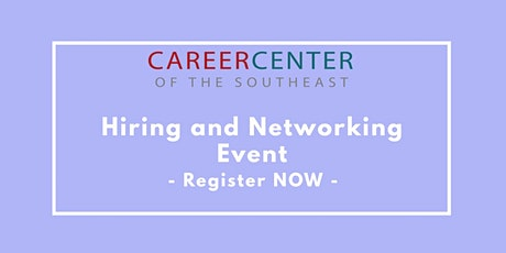 Networking and Hiring Event- Atlanta tickets