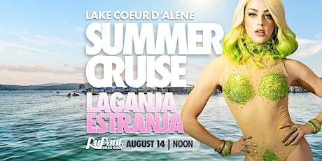 Lake Coeur d'Alene SUMMER CRUISE | feat. Laganja Estranja tickets