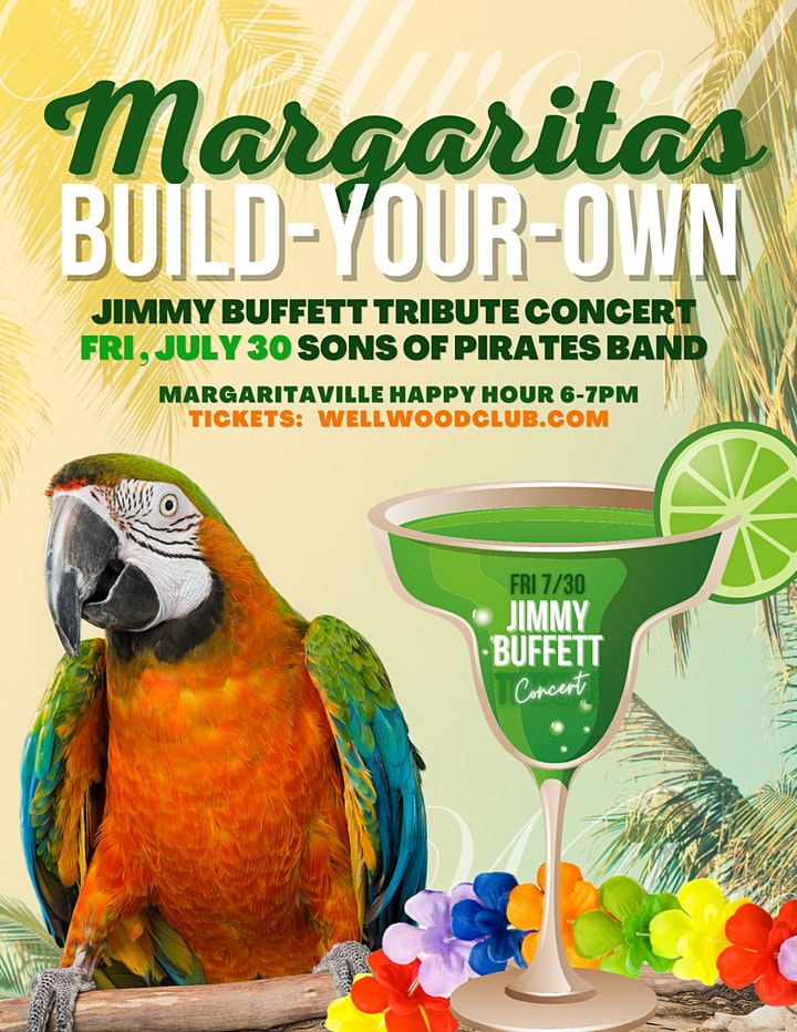 RESERVE PRIVATE ISLAND - Jimmy Buffett Tribute Concert (VIP Table) image