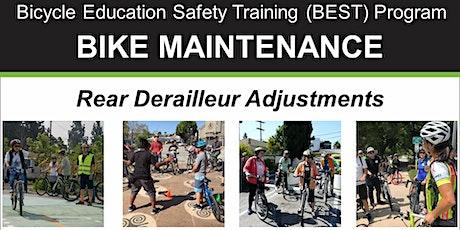 Bike Maintenance: Rear Derailleur Adjustment - Online Video Class tickets