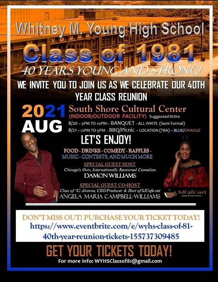 WYHS Class of '81 40th Year Reunion image