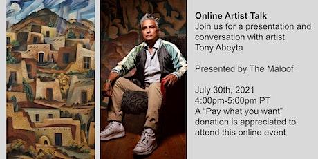 Online Artist Talk: Tony Abeyta tickets