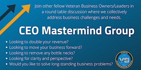 VEI CEO Mastermind Group - August 2021 tickets