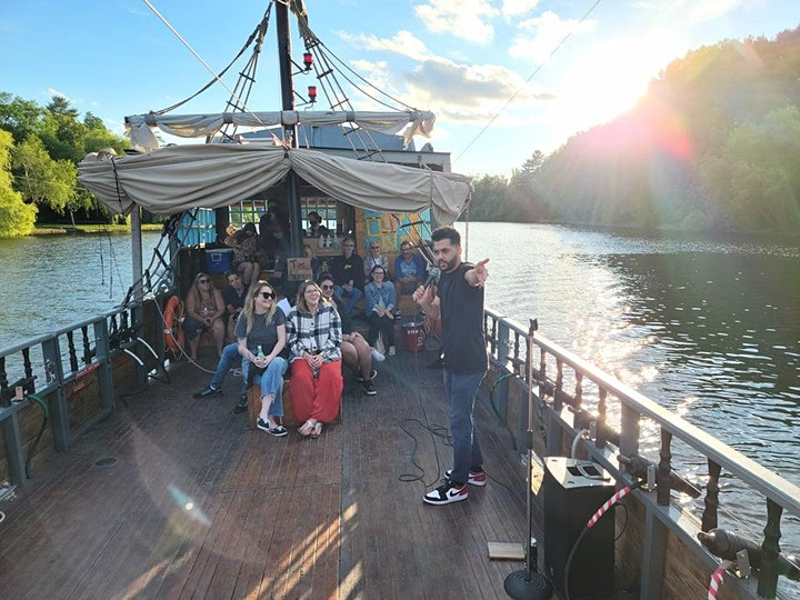 Comedy on the Water; The Pirate Ship Comedy Hour image