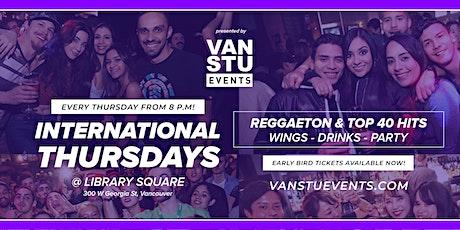International Thursdays at Library Square tickets