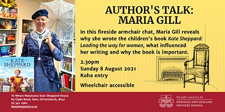Fireside chat: Author's Talk - Maria Gill tickets