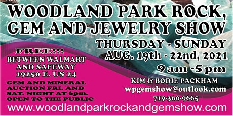 Woodland Park Rock, Gem and Jewelry Show tickets
