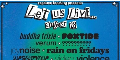 LET US LIVE!!! tickets