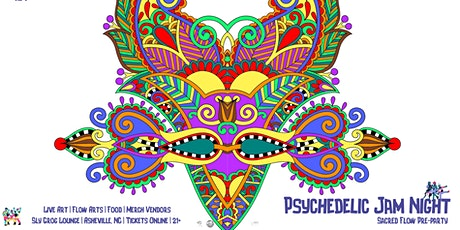 Psychedelic Jam Night : Sacred Flow Pre-party tickets