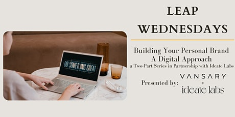 Building Your Personal Brand - A Digital Approach tickets