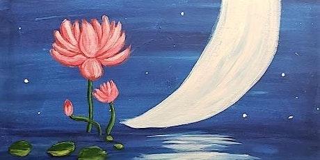 Paint & Sip - Moonlight Lotus tickets