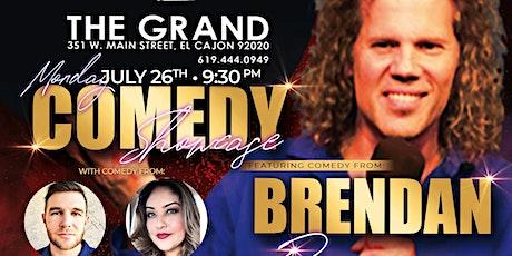 Monday Night Comedy Showcase at The Grand El Cajon  - 7/26 - 9:30 pm tickets