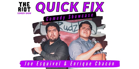 "The Riot Comedy Show presents ""Quick Fix Comedy Showcase"" tickets"