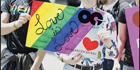 """Love is Love"" with OG Overgroundmusic - CSD Afterparty @ Jockel Biergarten Tickets"