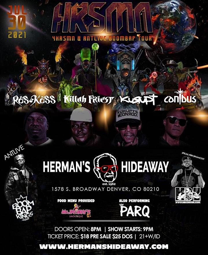 4HRSMN & ANTLIVE BOOMBAP TOUR image