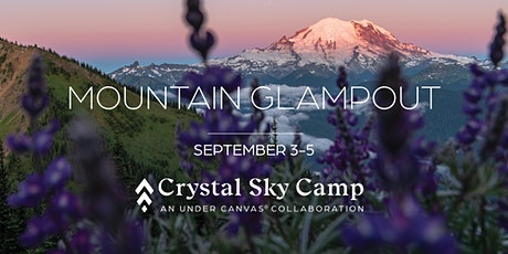 Mountain Glampout at Crystal Sky Camp tickets