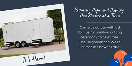 Mobile Shower Ribbon Cutting Ceremony and Celebration tickets