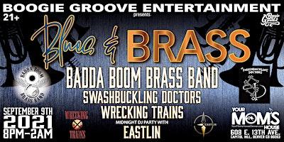 Blues and Brass: Badda Boom Brass Band + More