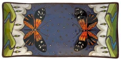 Ceramic painter Bonnie Zuckerman offers a Free Live Painting Demo! tickets