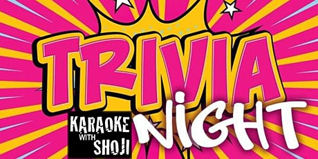 Trivia Thursday With Shoji at The Revel Patio Grill tickets