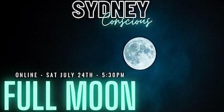 SCOnline - Full Moon - Breath work, meditation, Full moon ritual & movement tickets