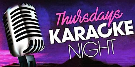 Thursday Karaoke Night with Shoji at The Revel Patio Grill tickets
